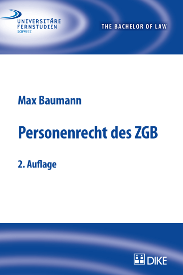 Personenrecht des ZGB