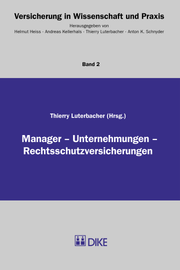Manager – Unternehmungen – Rechtsschutzversicherungen