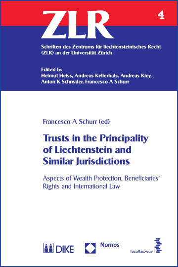 Trusts in the Principality of Liechtenstein and Similar Jurisdictions