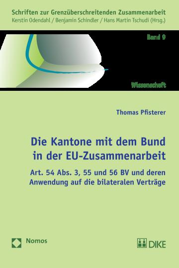 Die Kantone mit dem Bund in der EU-Zusammenarbeit
