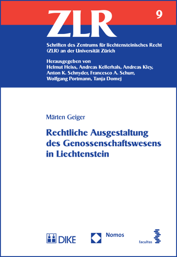 Rechtliche Ausgestaltung des Genossenschaftswesens in Liechtenstein
