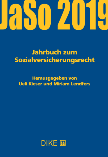 Jahrbuch zum Sozialversicherungsrecht 2019