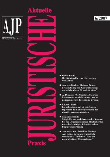 AJP/PJA 06/2007