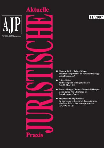 AJP/PJA 11/2007