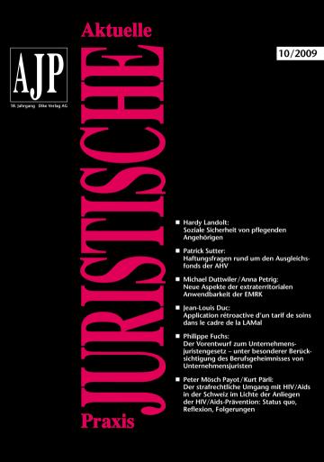 AJP/PJA 10/2009