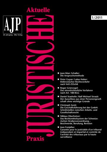 AJP/PJA 01/2011