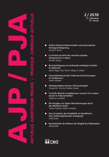 AJP/PJA 2/2018