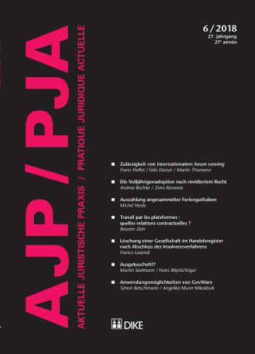 AJP/PJA 6/2018