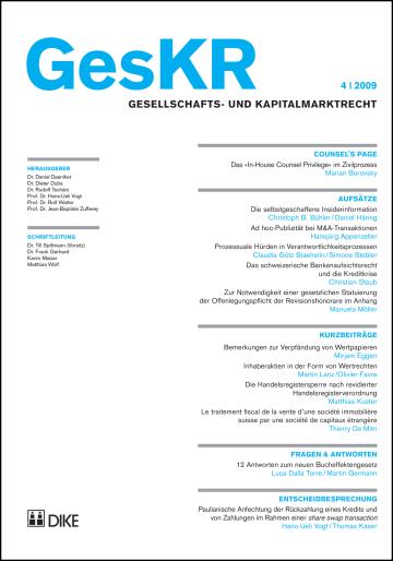 GesKR 04/2009
