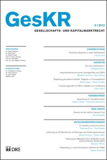 GesKR 03/2013