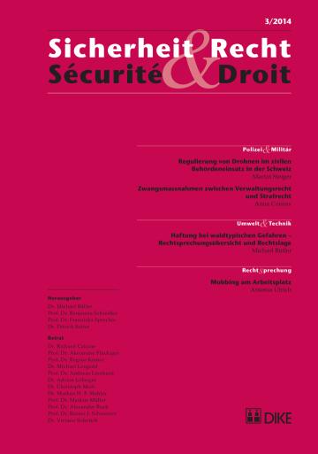 Sicherheit & Recht / Sécurité & Droit 03/2014