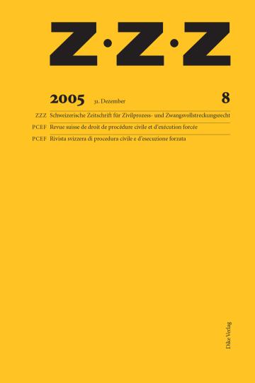 ZZZ 2005 Heft 8