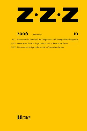 ZZZ 2006 Heft 10