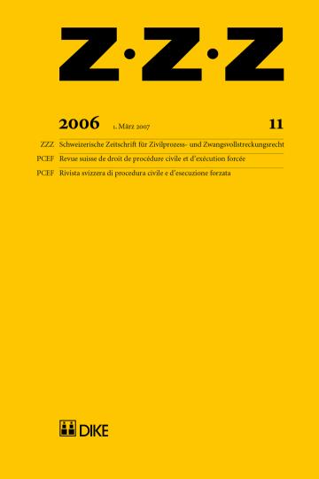 ZZZ 2006 Heft 11