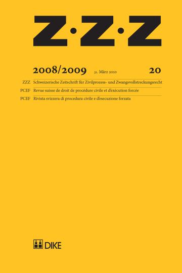 ZZZ 2008/2009 Heft 20