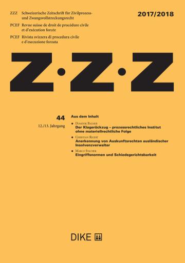 ZZZ 2017/2018 Heft 44