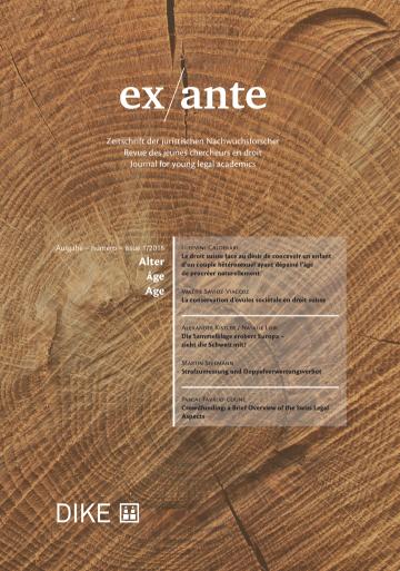 ex/ante 1/2018
