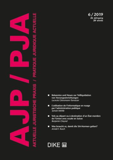 AJP/PJA 6/2019