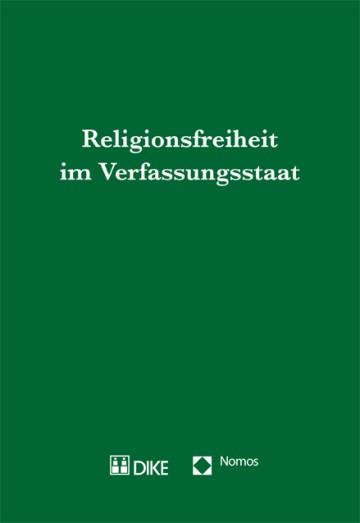 Religionsfreiheit im Verfassungsstaat