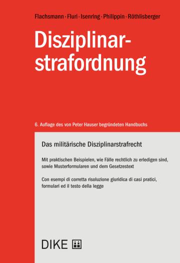 Disziplinarstrafordnung
