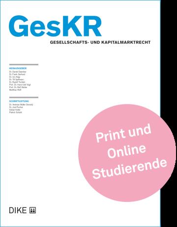 GesKR Abonnement für Studierende