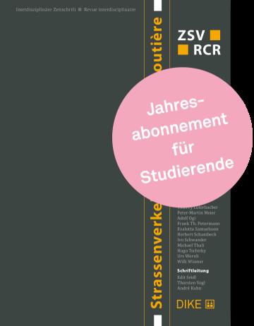 Strassenverkehr Abonnement für Studierende