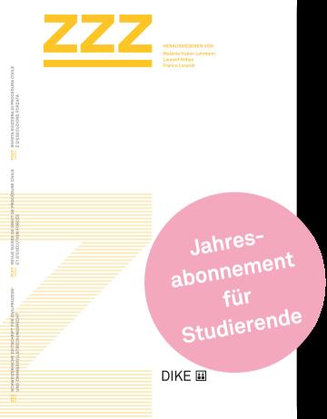ZZZ Abonnement für Studierende