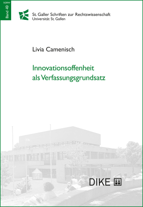 Innovationsoffenheit als Verfassungsgrundsatz
