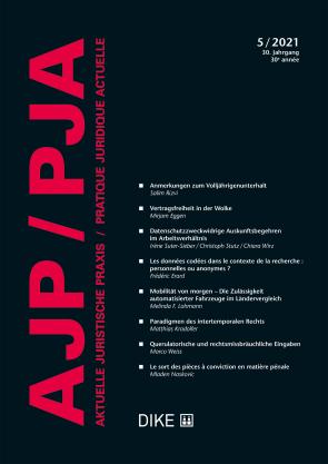 AJP/PJA 05/2021