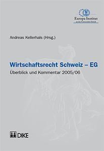 Wirtschaftsrecht Schweiz – EG