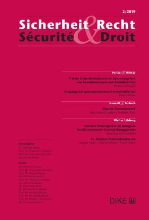 Sicherheit & Recht / Sécurité & Droit 2/2019