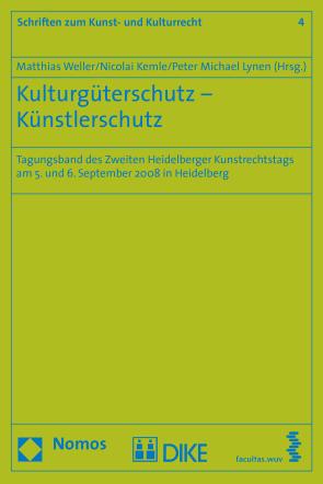 Kulturgüterschutz – Künstlerschutz