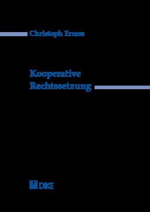Kooperative Rechtssetzung