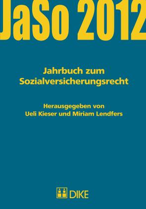 Jahrbuch zum Sozialversicherungsrecht 2012