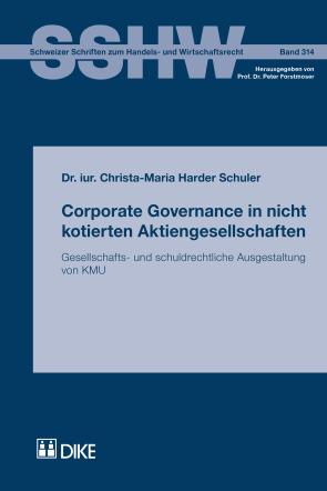 Corporate Governance in nicht kotierten Aktiengesellschaften