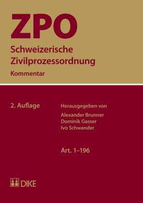 Schweizerische Zivilprozessordnung ZPO