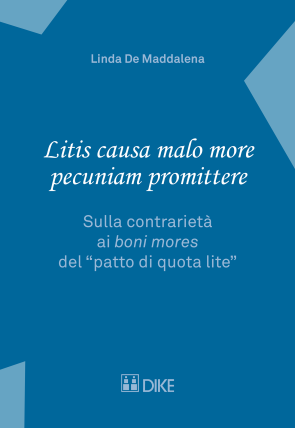 Litis causa malo more pecuniam promittere