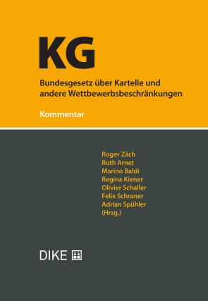 Bundesgesetz über Kartelle und andere Wettbewerbsbeschränkungen (KG)