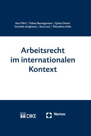Arbeitsrecht im internationalen Kontext
