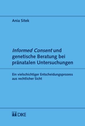 Informed Consent und genetische Beratung bei pränatalen Untersuchungen