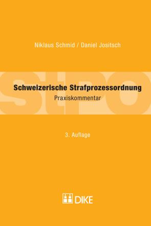 Schweizerische Strafprozessordnung (StPO)