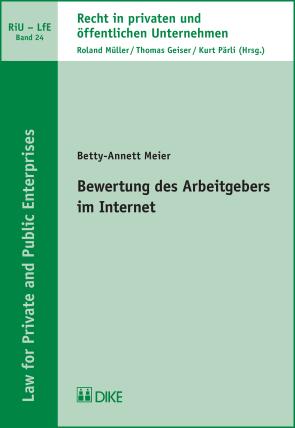 Bewertung des Arbeitgebers im Internet