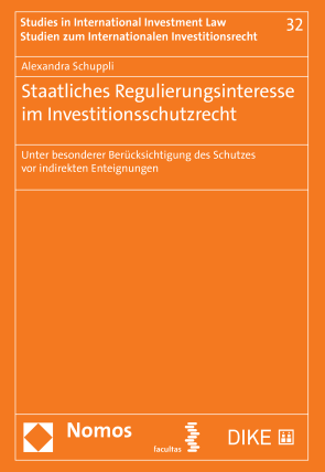 Regulierungsinteresse der Staaten im Investitionsschutzrecht