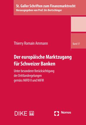 Der europäische Marktzugang für Schweizer Banken