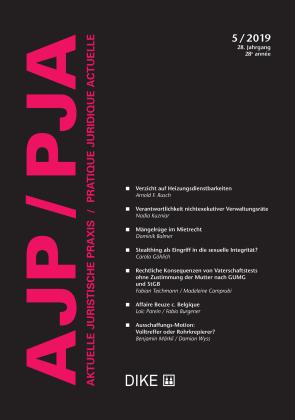 AJP/PJA 5/2019