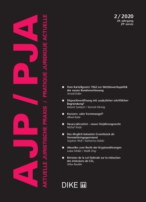 AJP/PJA 2/2020