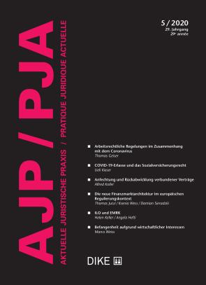 AJP/PJA 5/2020