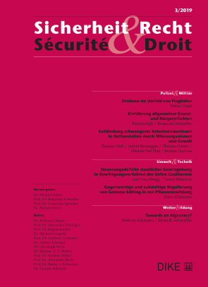 Sicherheit & Recht / Sécurité & Droit 3/2019