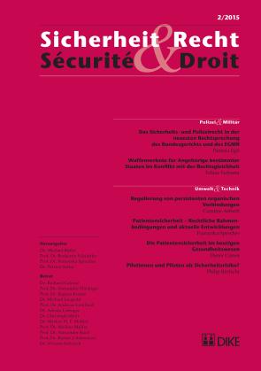 Sicherheit & Recht / Sécurité & Droit 02/2015