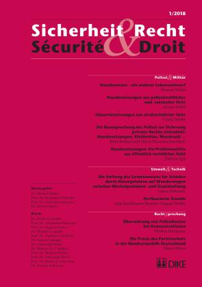 Sicherheit & Recht / Sécurité & Droit 01/2018